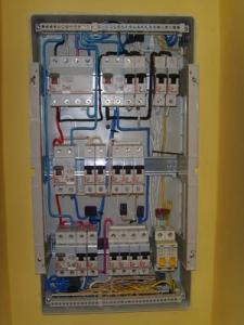 Электрощиток после ремонта ТМ-Электро